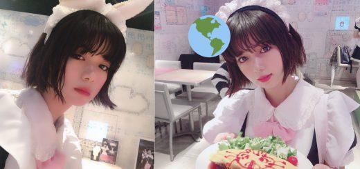 池田エライザがメイド喫茶に降臨!メイド服コスプレ披露しファン大興奮