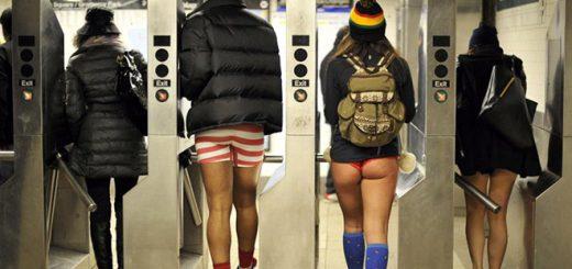 パンイチで地下鉄に乗る!ズボンを履かないおバカなイベントが今年も開催