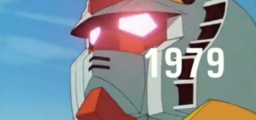 ガンダム40周年を記念し軌跡をまとめた動画が胸熱すぎる!ファン大興奮