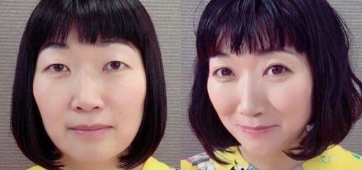 たんぽぽ川村エミコが大変身!?「24hFUTAE」で二重まぶた美女へ