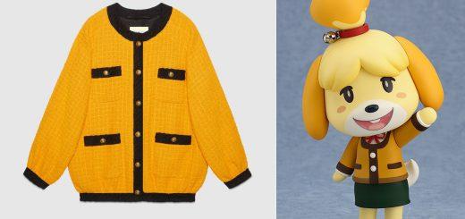 GUCCIの新作が『どうぶつの森』しずえの服にそっくり!値段は約50万円