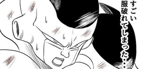 戦うほどに悟空の服が破れる!フリーザの困惑した心情を描くマンガが人気