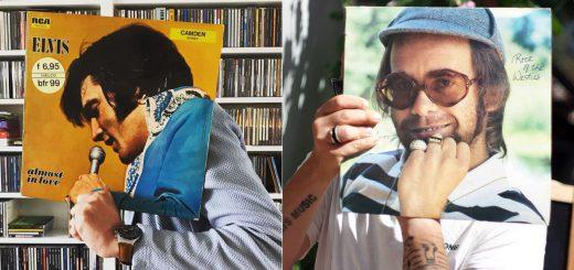 音楽ファンの間で流行中!レコードジャケットと合体する自画撮り「Sleeveface」
