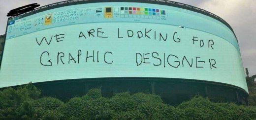 ペイントに殴り書き!グラフィックデザイナーの求人広告が斬新で凄く伝わると話題