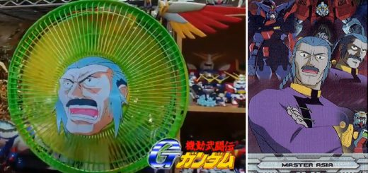 Gガンダムファン激震!扇風機で東方不敗の「超級覇王電影弾」を再現する猛者現る