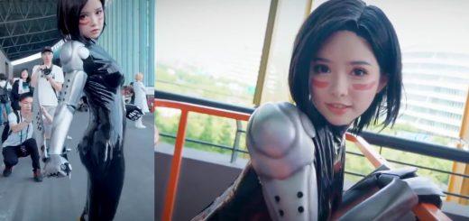 ガリィそっくり!?中国人コスプレイヤー622の『銃夢』コス動画がCG超えと話題