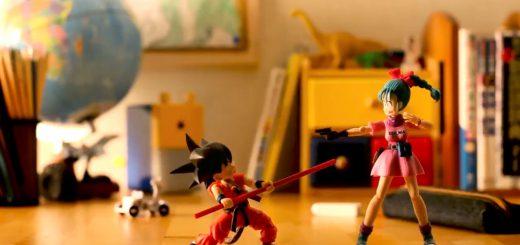 ドラゴンボールファン感激!フィギュアコマ撮りアニメ『ブルマと孫悟空』が芸術の域