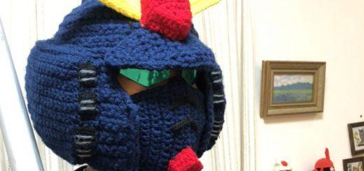 毛糸でガンダムMk-IIのニット帽を編む猛者が現る!衝撃のクオリティ