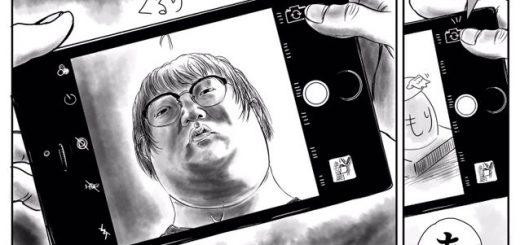 スマホ撮影あるある過ぎて辛い…漫画『インカメラ切り替え機能の残酷さ』に共感集まる