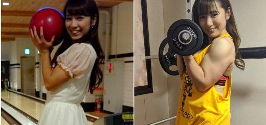 ギャップすごすぎ!筋肉アイドル才木玲佳の「筋トレ ビフォーアフター」写真が話題