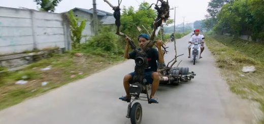 スクーターを魔改造!インドネシアで人気なベスパのDIYカスタムがヤバい