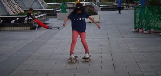 両足で別々のスケートボードに乗る!フリースタイル世界大会3連覇の山本勇がみせる離れ業動画