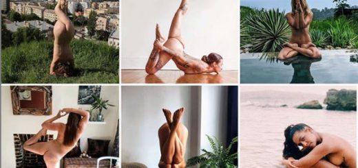 世界各国で全裸(ヌード)ヨガが人気!?インスタに写真投稿する女子増加