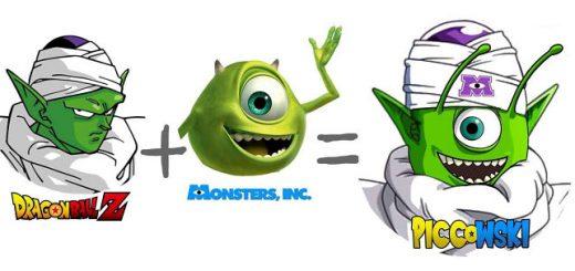 もし2体の有名キャラクターを合体させたら…妄想アニメイラストが面白い