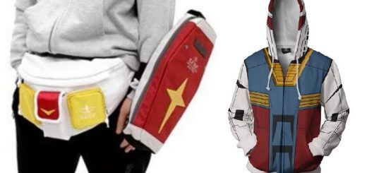 ガンダム風ウエストバッグやパーカーが「ガンダム愛を試される」とファンの間で話題